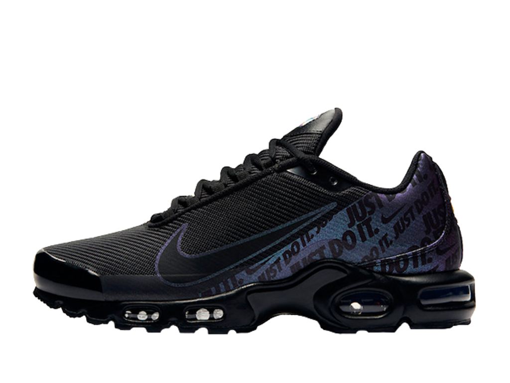 Officiel Nike TN Air Max Plus Chaussures Nike Pas Cher Pour Homme Just Do It Black CJ9697-001