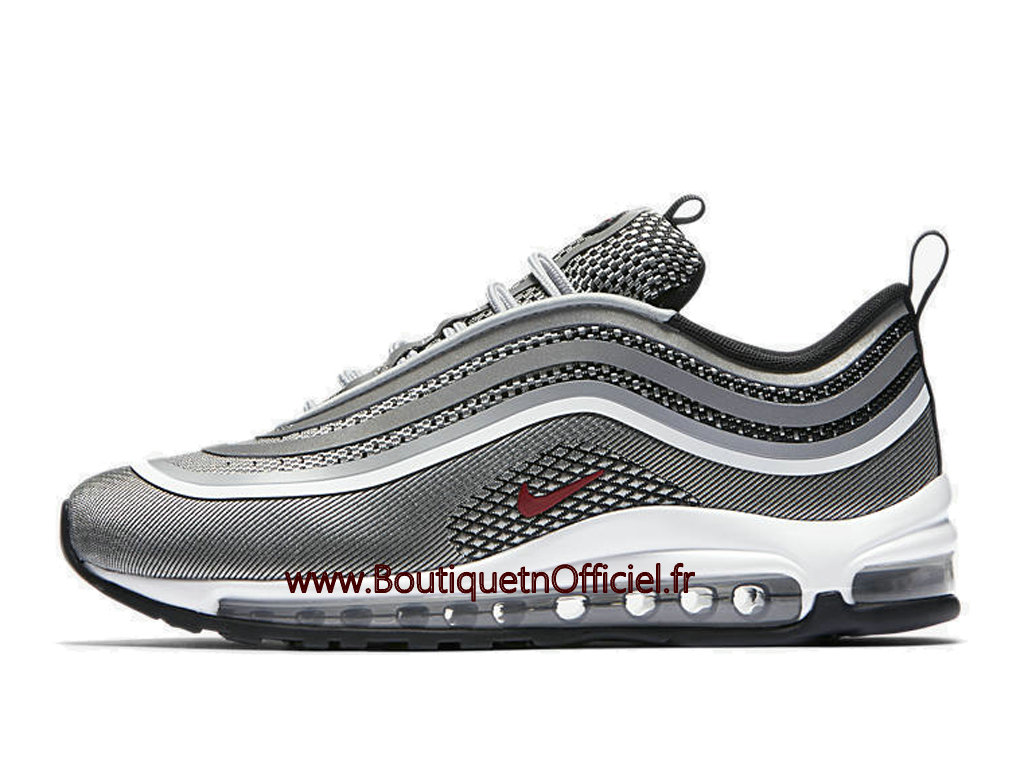 Officiel Nike Wmns Air Max 97 Chaussures Nike Prix Pas Cher Pour FemmeEnfant Gris Blanc 917704 002 1804022362 Officiel Nike Site! Chaussures Tn