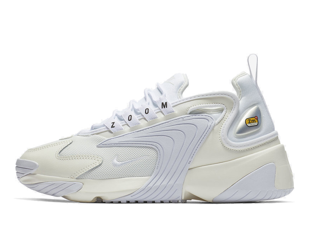 Officiel Nike Zoom 2K Chaussures Nike Basket Pas Cher Pour Homme Blanc AO0354-101