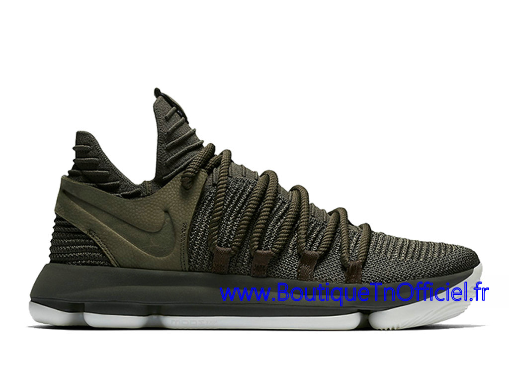 Officiel Nike Zoom KD 10 NL Chaussures Nike 2018 Pas Cher Pour Homme Vert 917732-900