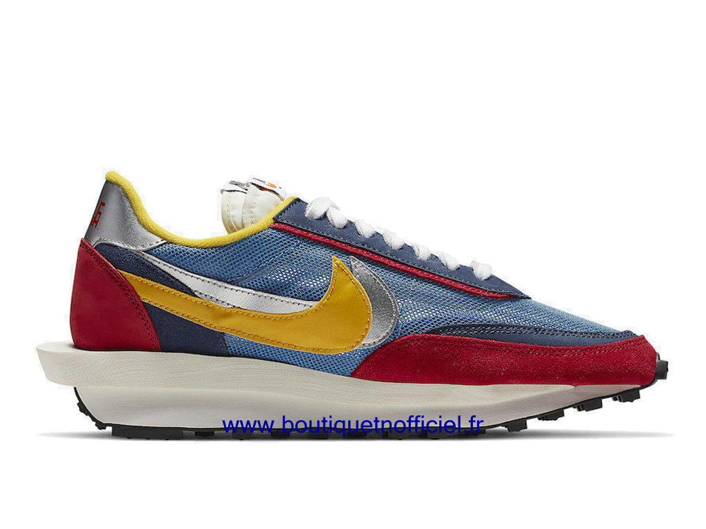 Officiel Sacai x Nike LDWaffle Chaussures Nike Sneaker Pas Cher Pour Homme Blue/Multi BV0073-400