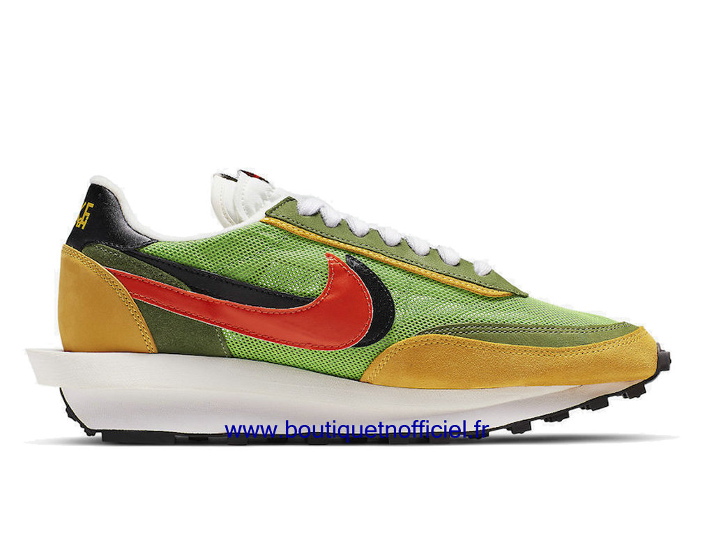 Officiel Sacai x Nike LDWaffle Chaussures Nike Sneaker Pas Cher Pour Homme Green Gusto BV0073-300