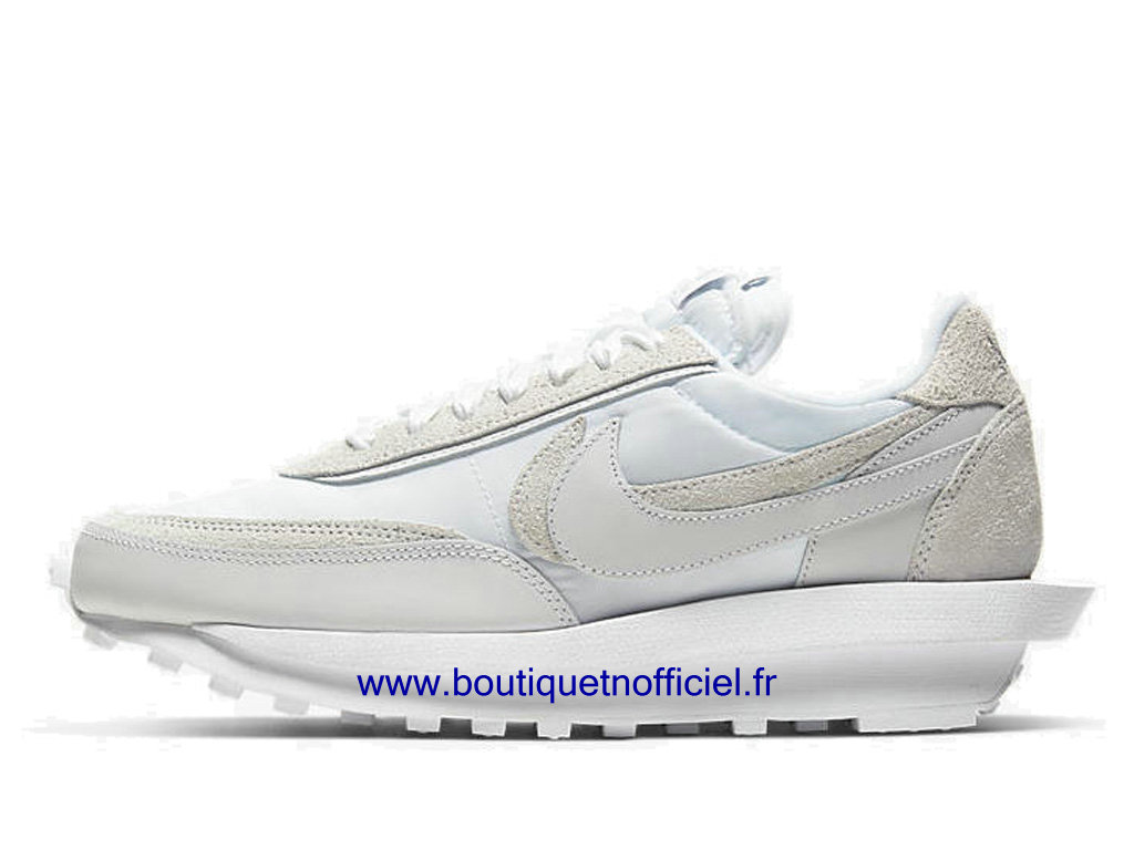 Officiel Sacai x Nike LDWaffle Chaussures Nike Sneaker Pas Cher Pour Homme White BV0073-101